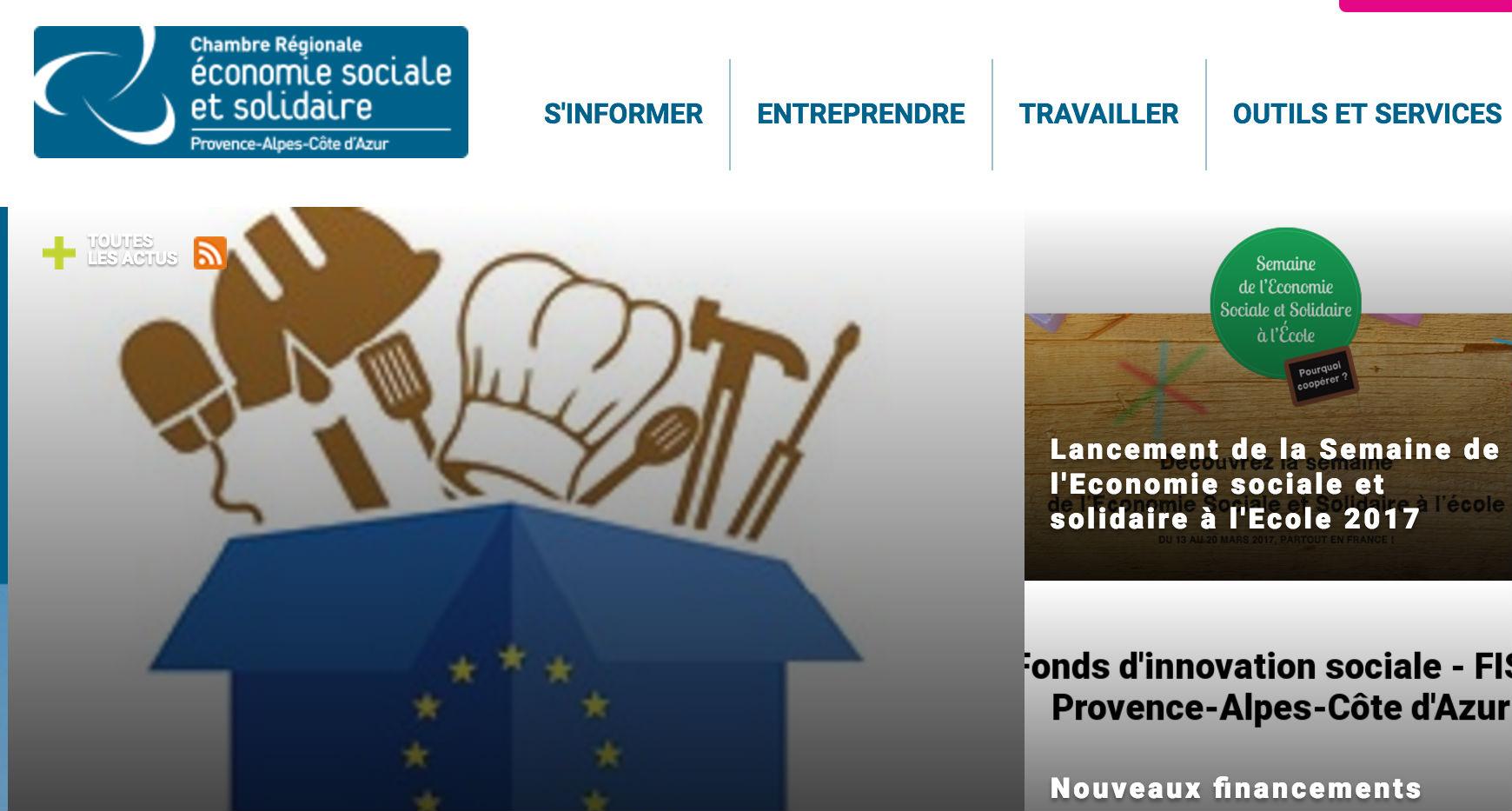 La liste des entreprises de l conomie sociale et - Chambre regionale de l economie sociale et solidaire ...
