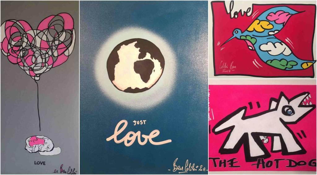 "Les ""Love"" de Ben Colibri"