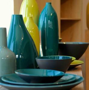 Le bleu galet et le bleu lagon de l'Atelier Romain Bernex