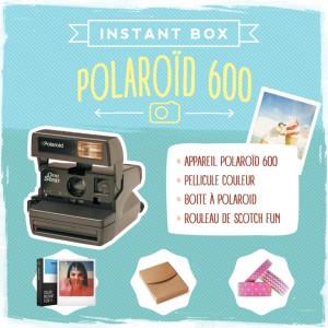 La box Polaroid 100% vintage