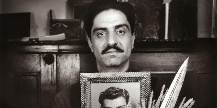 Simon Abkarian, auteur-mettre en scène et acteur au théâtre du Gymnase