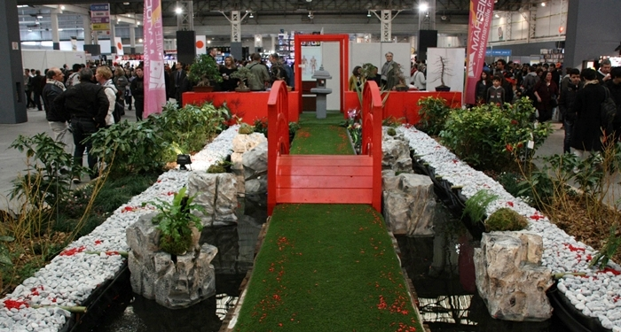 Un jardin au cœur du festival, inspiré par celui du parc Borély