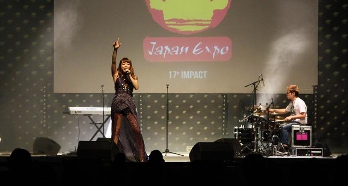 Le duo RnB Ilu Grace a enrichi ce premier jour du festival avec sa musique populaire