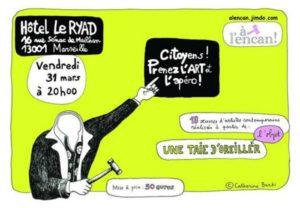A l'encan organise sa deuxième vente aux enchères d'art contemporain à Marseille