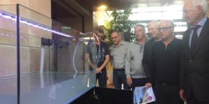 Un aquarium pour représenter la faune et la flore de l'étang de Berre inauguré à l'hôtel de l'agglomération