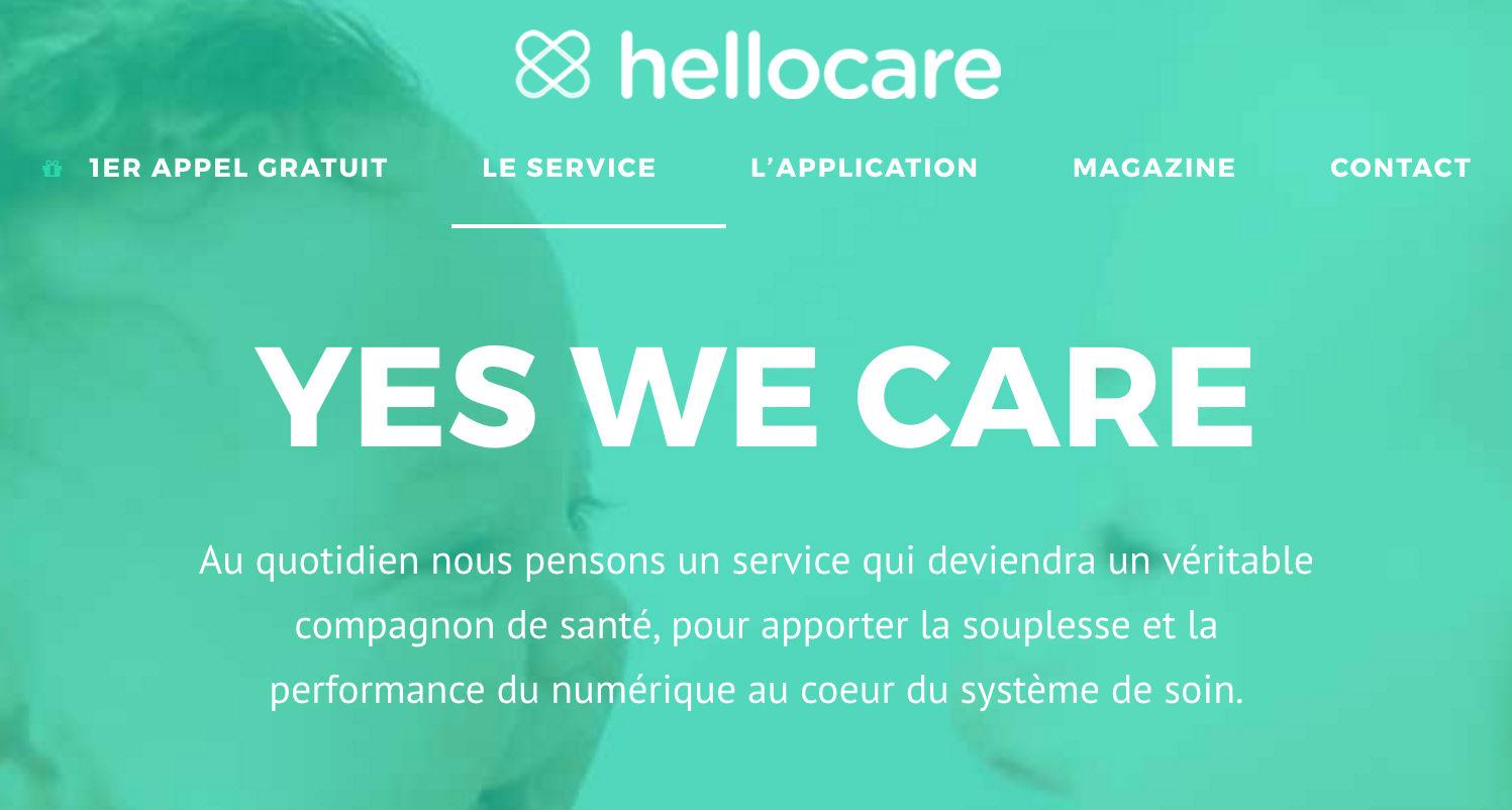 """Résultat de recherche d'images pour """"HELLOCARE"""""""