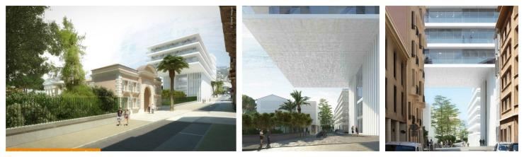 Une vue du futur quartier Chalucet (©Golem Images)