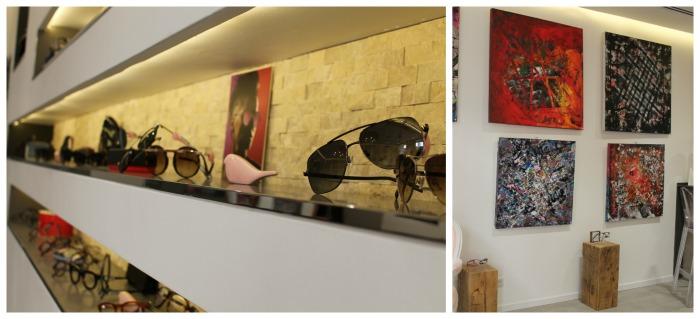 Art & Lunettes, la nouvelle adresse aime la création côté optique et côté peinture
