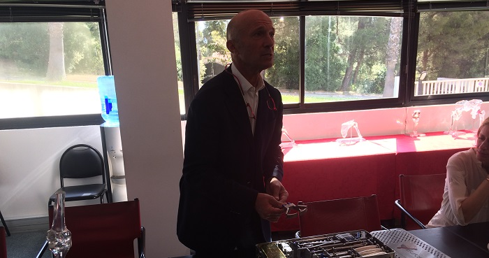 Loïc Piclet, le PDG et fondateur d'Euros