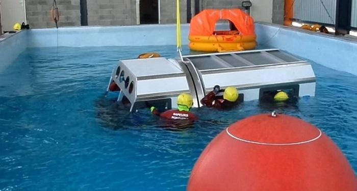 Inaugurée en avril, le HWTC prépare à la survie en mer