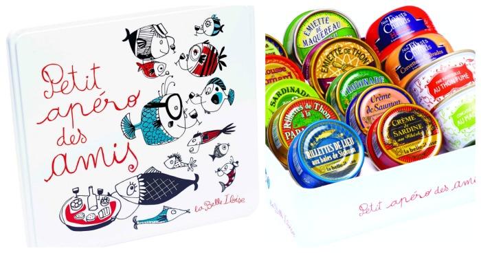 """La box """"Petit apéro entre amis"""" de la Belle Iloise"""