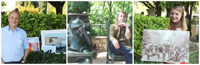 Patrick Braoudé, Philippe Cariou, la grenouille deGilles de Kerversau et Juliette de Buscher seront parmi les artistes invités  aux Flâneries