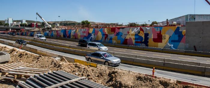 Sur la rocade L2, le plus grand musée à ciel ouvert consacré au street-art