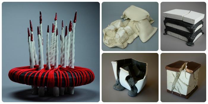 Œuvres de Mia Llauder et Joan Serra (©Argilla)