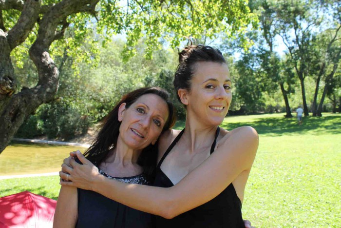 Nicole Ferroni, une marraine qui soutient réellement le travail de Teresa Trigato et d'Art Euro