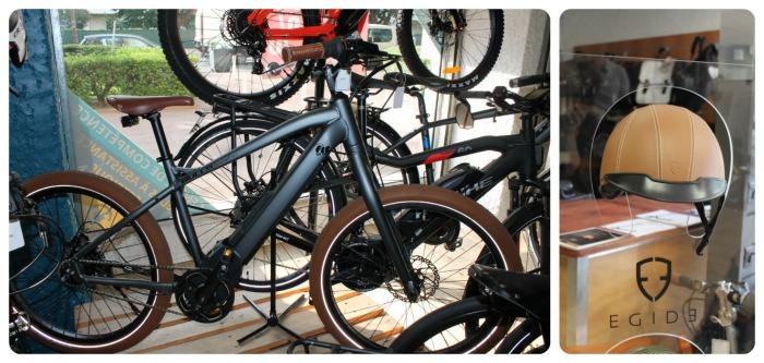 De la roue (vélo 3 299 €) au casque Egid (249€), on peaufine son look