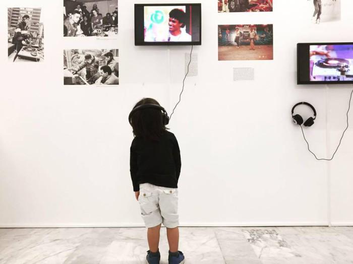 Il n'y a (presque) pas d'âge pour venir au musée et découvrir l'histoire du Hip Hop