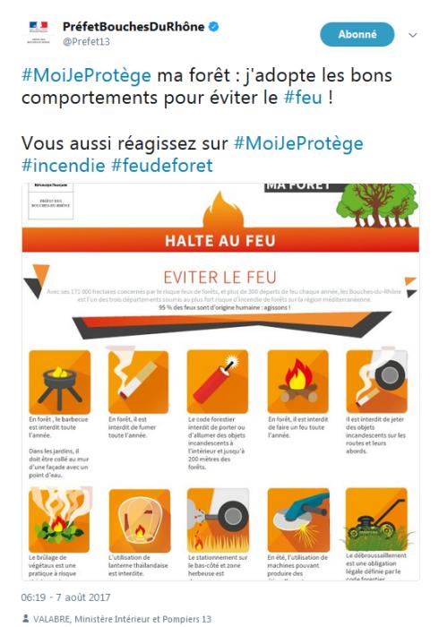 La campagne #MoiJeProtège sur Twitter