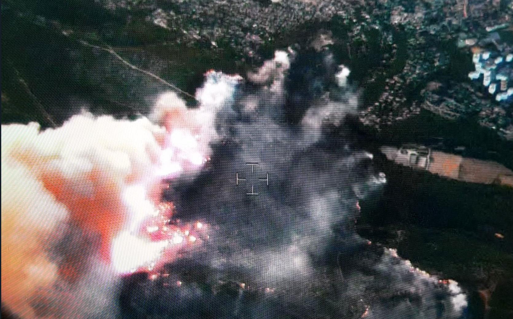 240 hectares de forêt ravagés par un incendie (PHOTOS) — Marseille