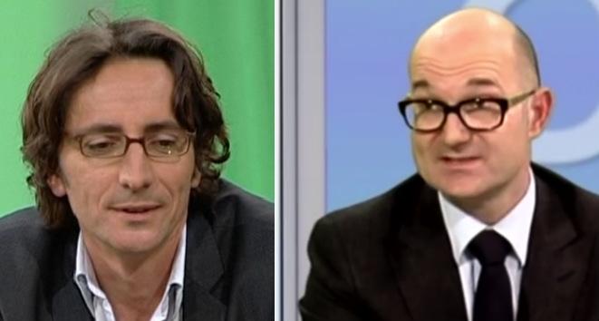 Les professeurs de l'APHM Fabrice Bartolomei et Fabrice Baresi (Crédit XDR).