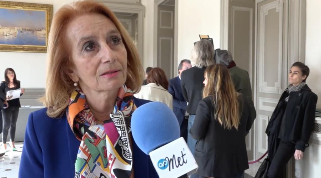 Danielle Milon, maire de Cassis