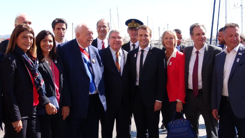Emmanuel Macron à Marseille