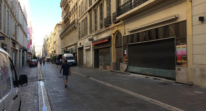 Les grandes enseignes tirent le rideau rue Saint-Ferréol