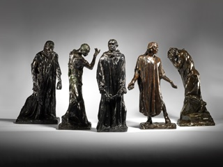 Rodin - Burghers of Calais - high res