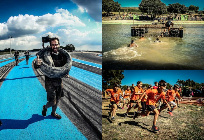 Des obstacles variés attendent les coureurs de tout âge lors de la Reebok Spartan Race