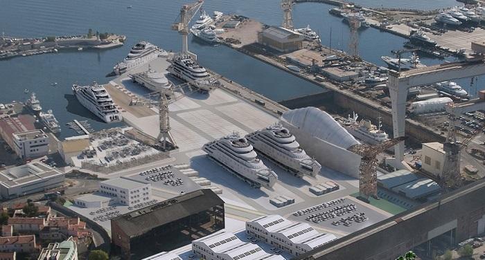 Une projection de la future plateforme 4 000 tonnes