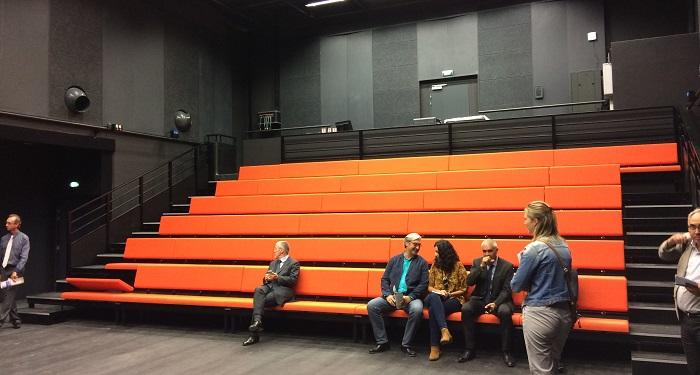 Une deuxième salle d'une capacité de 100 places accueillera des spectacles plus modestes