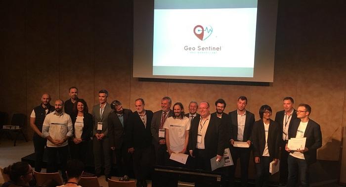 Geosentinel a remporté le Hackathon de Innov'inMed
