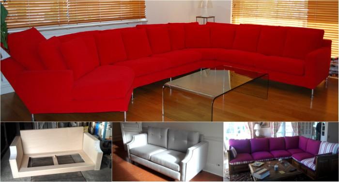 Lignes droites ou courbes, canapé à restaurer ou à créer : les sièges n'ont pas de secret pour Laurent Rotger