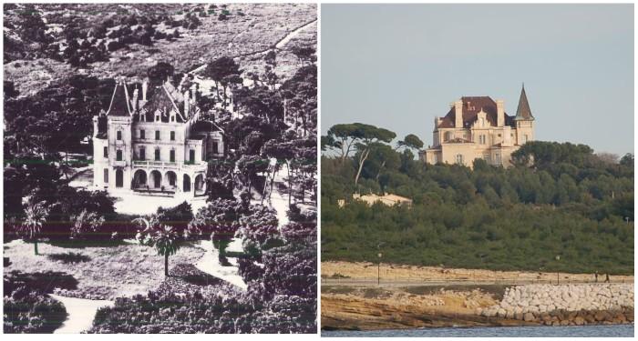 L'emblématique château des Charles-Roux à Sausset, hier comme aujourd'hui