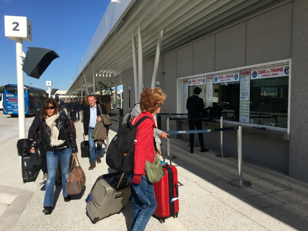 Nouvelle gare routière aéroport Marseille Provence