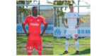 photo om maillot orange