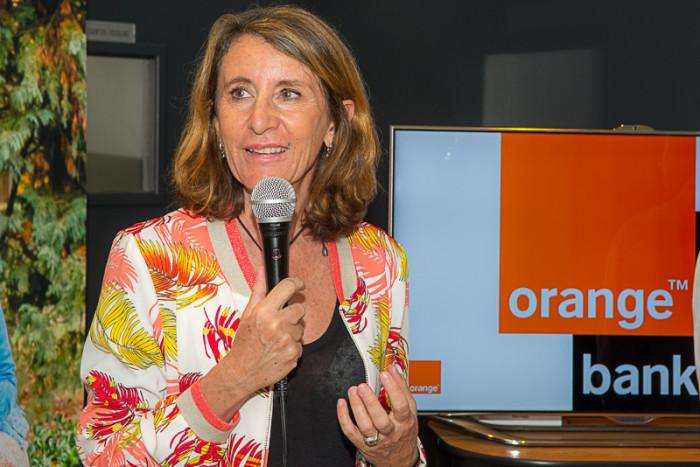 Nathalie Clère, directrice régionale Orange Sud-Est.