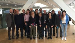 Les partenaires des Dialogues de l'urbain réunis à La Villa Méditerranée vendredi 24 novembre 2017 (Crédit Gomet'/JFE)
