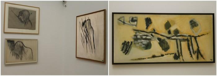 """Les """"Profil sous l'eau"""" (1946-1947 et 1951) et Grand Tracé II (1955)"""