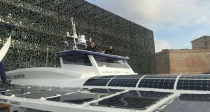 Montez à bord d'Energy Observer, le bateau autonome en énergie grâce à l'hydrogène