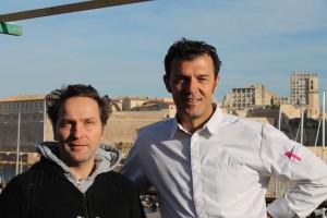 Matthieu Gamet (à gauche) ouvrira les festivités aux côtés de Christian Ernst (©DV)