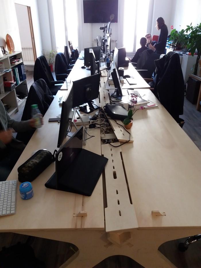 L'espace de coworking de Startup Marseille