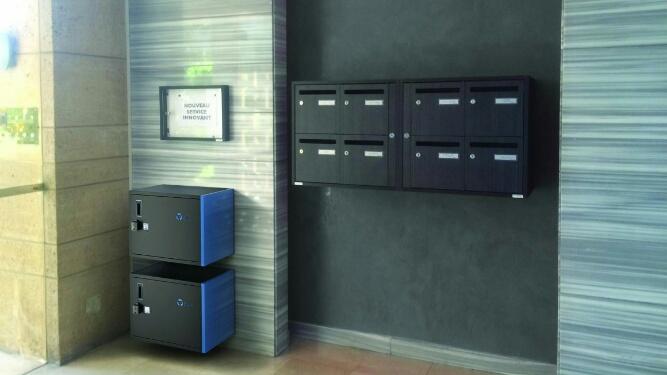 innovation la bo te colis connect e zabox se d ploie. Black Bedroom Furniture Sets. Home Design Ideas