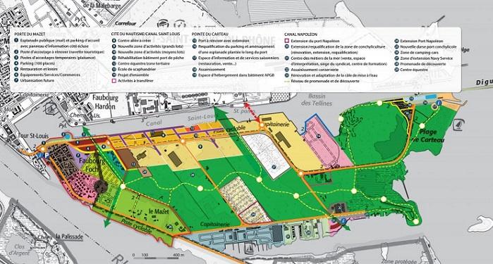 GO Carte projet Pôle nautisme Port-Saint-Louis