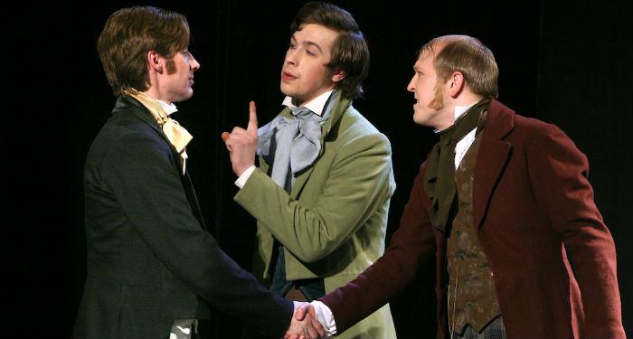 Belle association de malfaiteurs que ces Joueurs de Gogol (©DR)