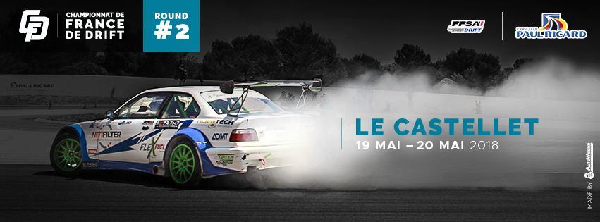 France Drift au circuit Paul Ricard