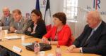 Annie Genevard, secrétaire générale de Les Républicains, était, jeudi 24 mai, à Marseille. Photo N.K.