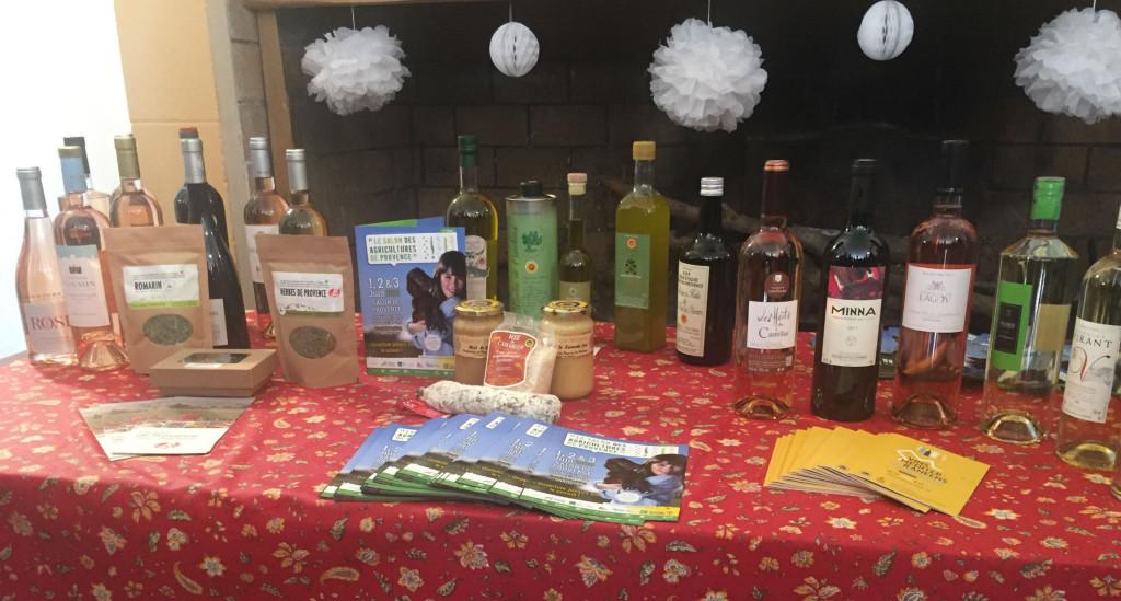 Les produits sous signes officiels de qualité et de l'origine seront mis à l'honneur lors du Salon des Agricultures de Provence du 1 au 3 juin.