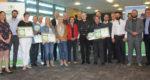 Quatre lauréats ont été distingués, sur 10 finalistes. Photo : Montpellier SupAgro