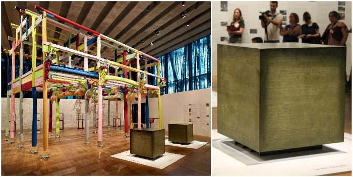 Maison colorée (2015) et savons de Marseille (2018) : les ready made d'Ai Weiwei version XXL